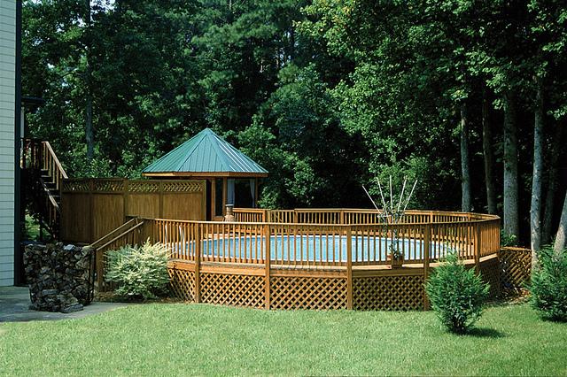 drewnian basen prawdz