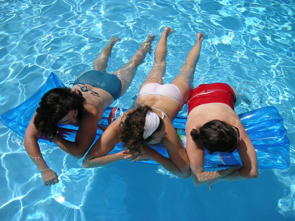 dziewczyny w wodzie