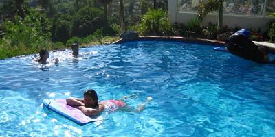 plywanie basenn